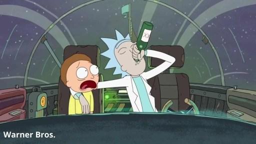 Rick and mory story circle