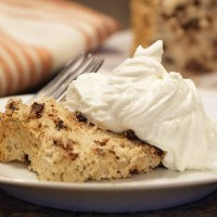 Coffee Chocolate Chip Angel Food Cake and a Giveaway
