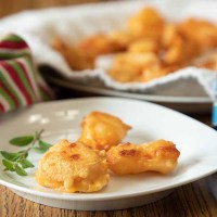Wisconsin Fried Cheese Curds, Pan-fried
