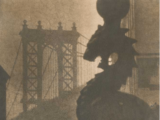 bridge and gargoyle
