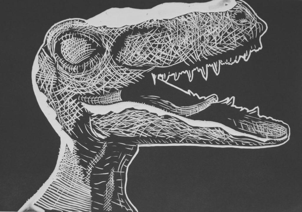 Velociraptor Relief