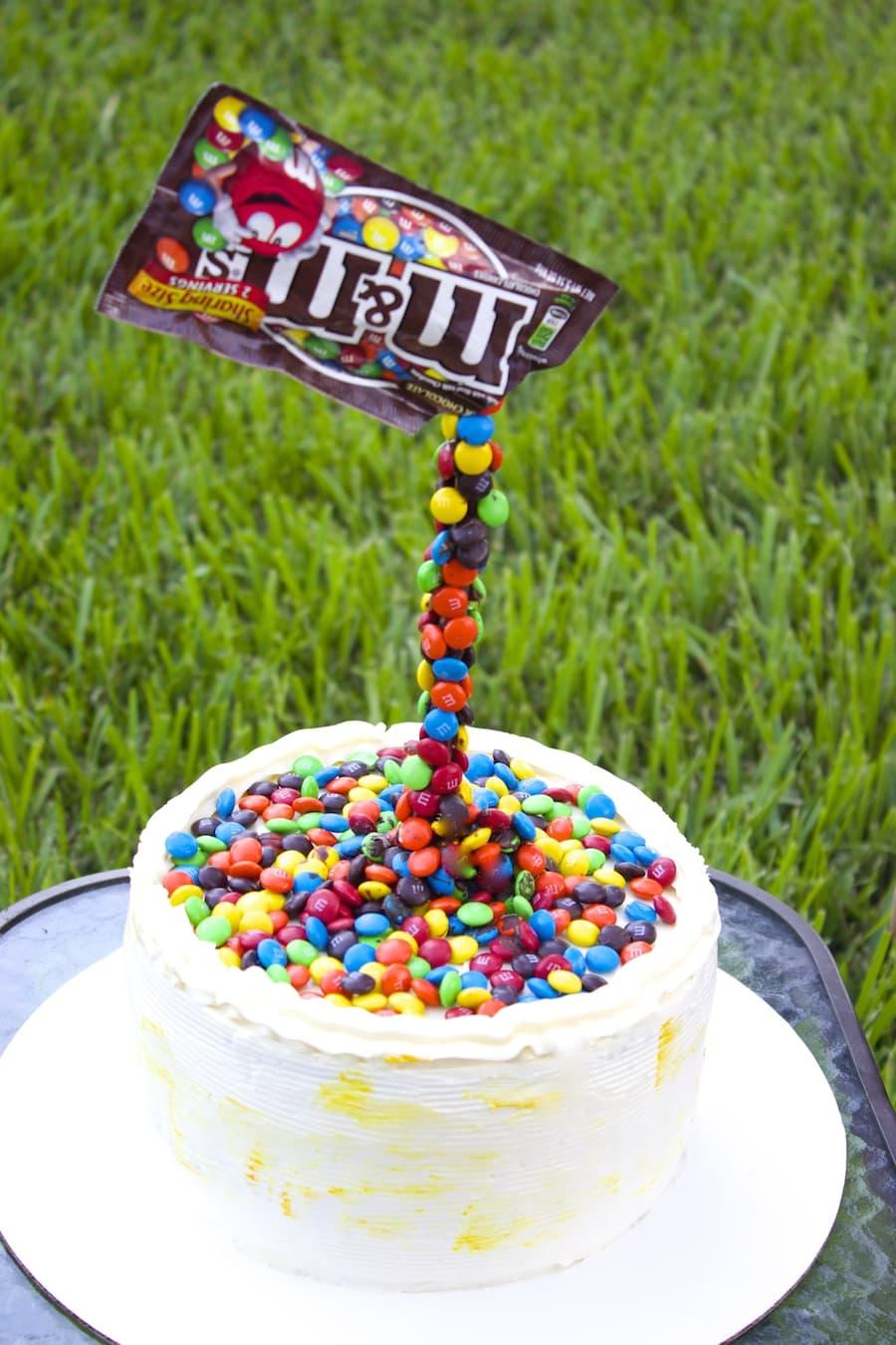Illusion Cake Gravity Defying Cake Swiss Meringue Buttercream Frosting