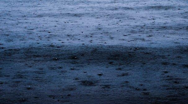 Drops on waterline