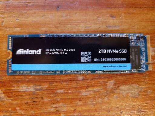 Inland Platinum NVMe SSD