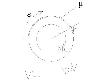 dynamika3 - Przyspieszenia poruszających się mas - zadanie 7