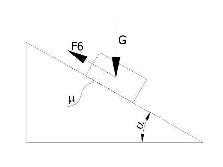 statyka1 - Tarcie statyczne - zadanie 1