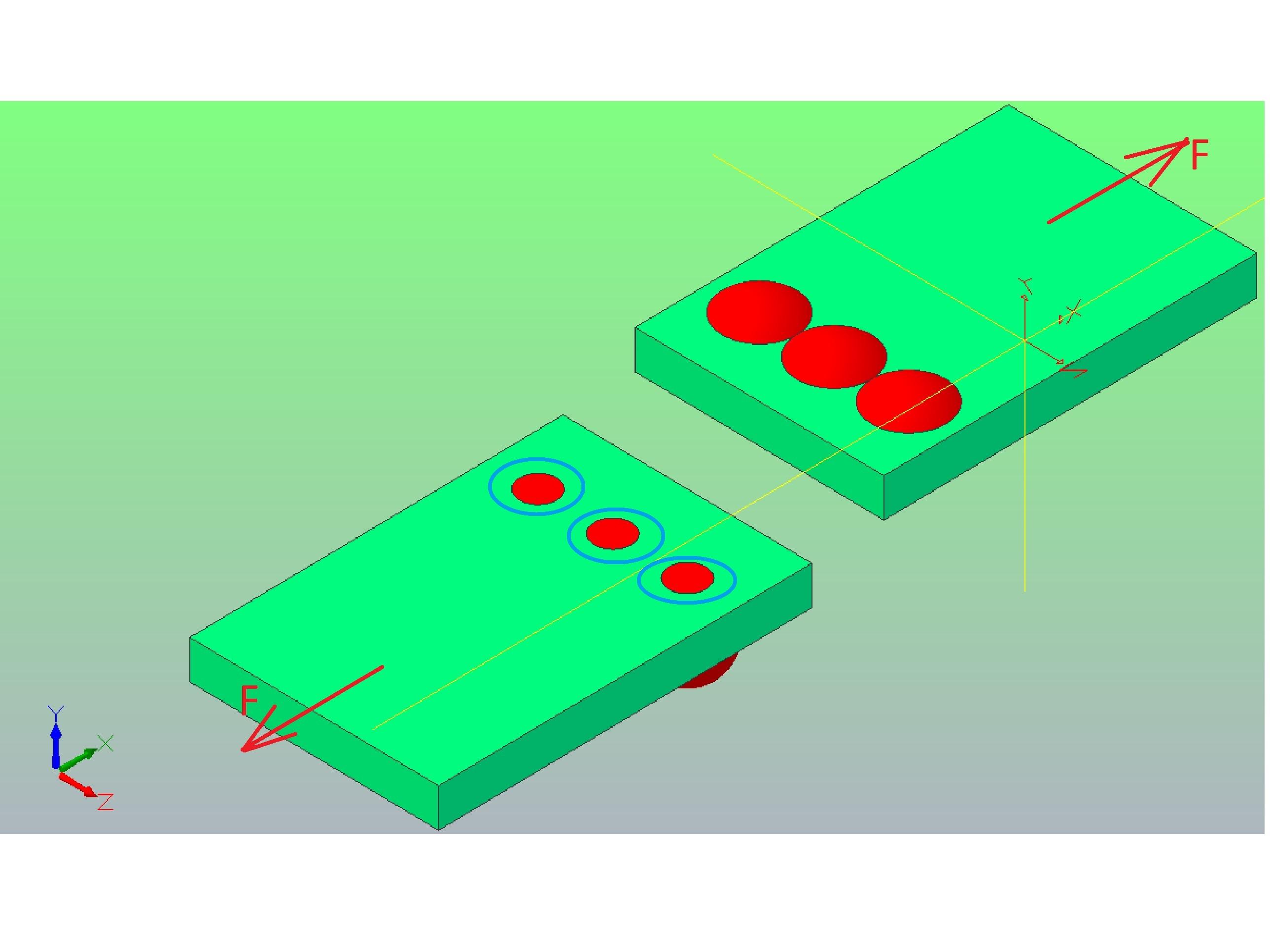 scinanie3 - Obliczenie połączenia nitowego - zadanie 15