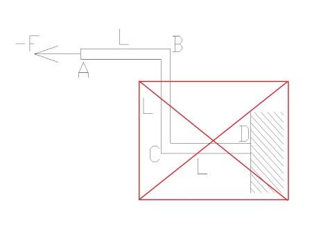 zlozona4 - Wytrzymałość złożona - rozciąganie ze zginaniem i ścinaniem - zadanie