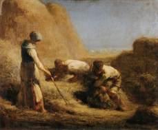 The Winnower, Jean-François Millet