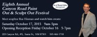 2015 Canyon Road Paint Out and Sculpt Out Festival!