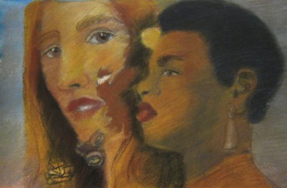 And Still I Rise, pastel