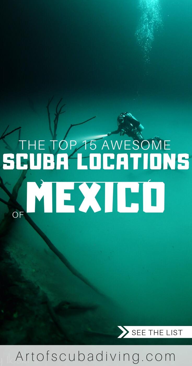 SCUBA LOCATIONS IN MEXICO