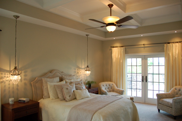 Smartly used neutral color palettes in the bedroom art for Monochromatic bedroom designs