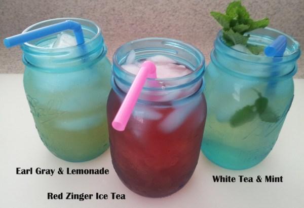 Three easy to make ice teas