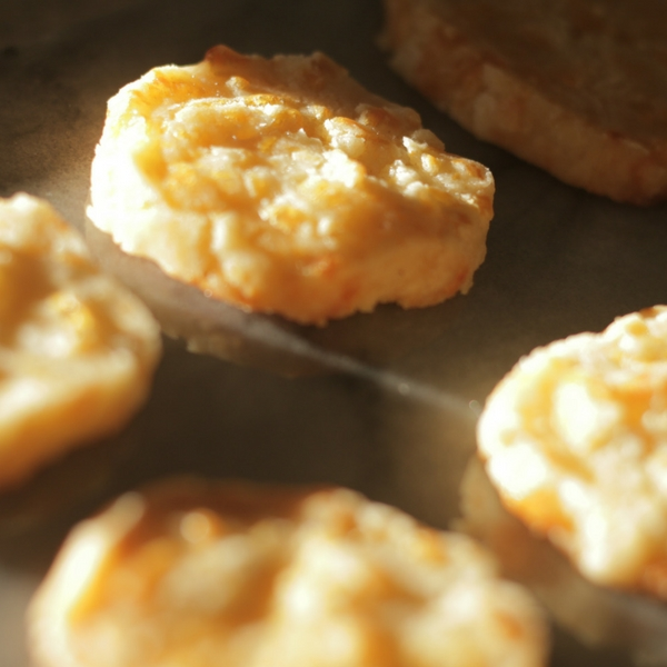 Spicy Cheddar Crackers from Scratch