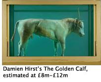 Damien Hirst, The Golden Calf