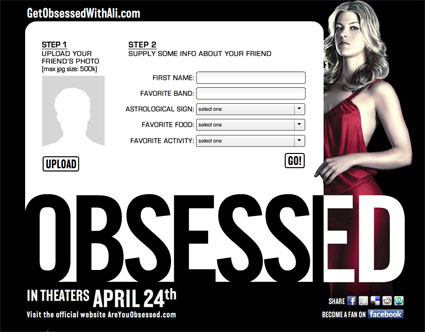 Obsessed Movie Promotion