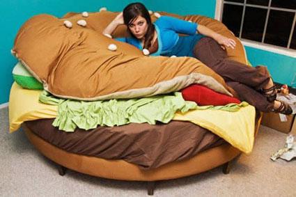The Hamburger Bed