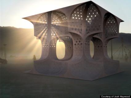 Hayam Sun Temple by Josh Haywood