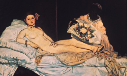 Olympia by Édouard Manet. Photograph: Corbis