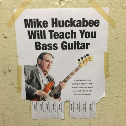Mike Huckabee guitar lessons