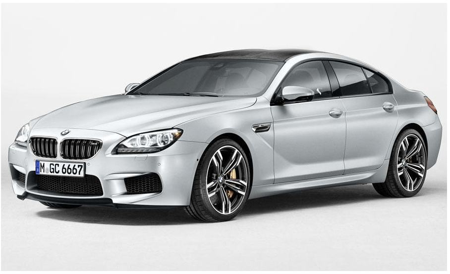 BMW M6 Gran Coupe set for Detroit  (1/4)