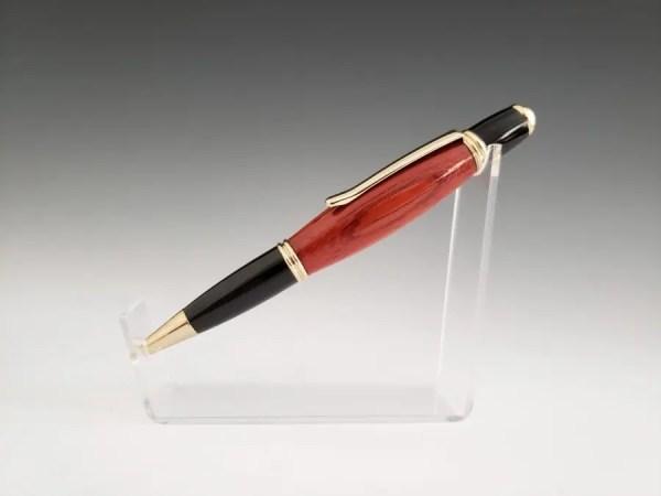 Handmade Padauk Wood Executive Style Pen Gift