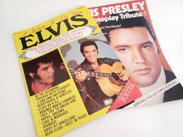 Elvis Presley 1977 tribute magazines