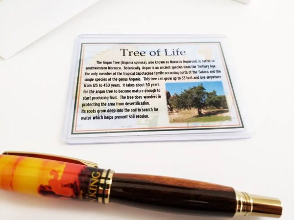 The Tree Of Life Lion King Gift for Adults - Pen made from wood
