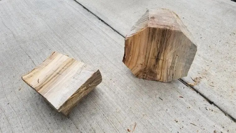 Spalted maple bowl blanks for wood turning