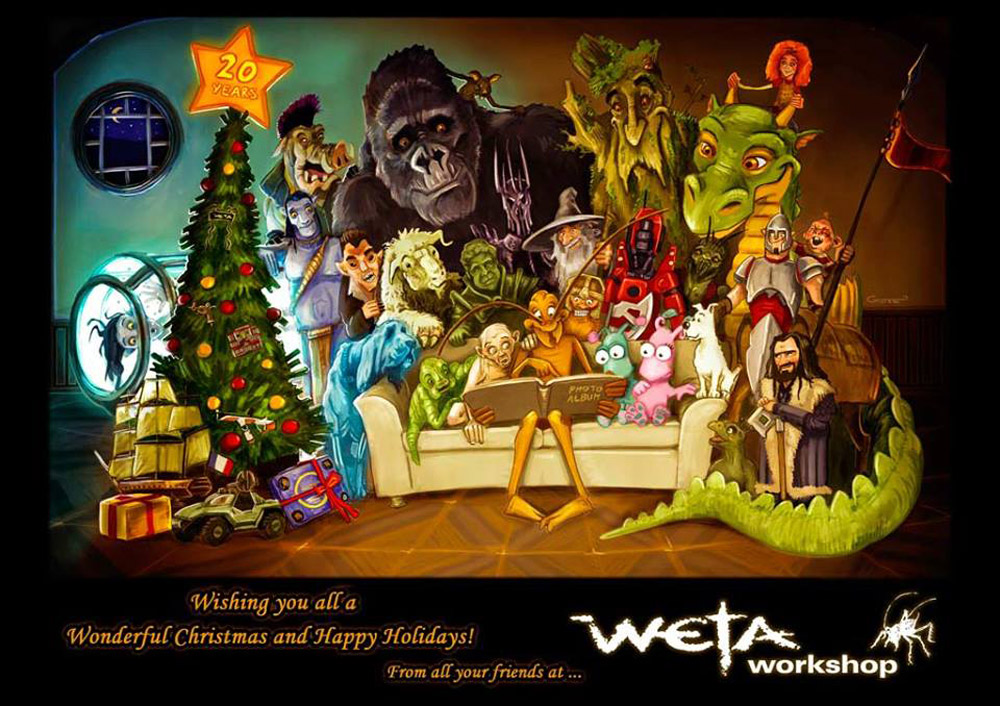 WetaWorkshop_HolidayCard