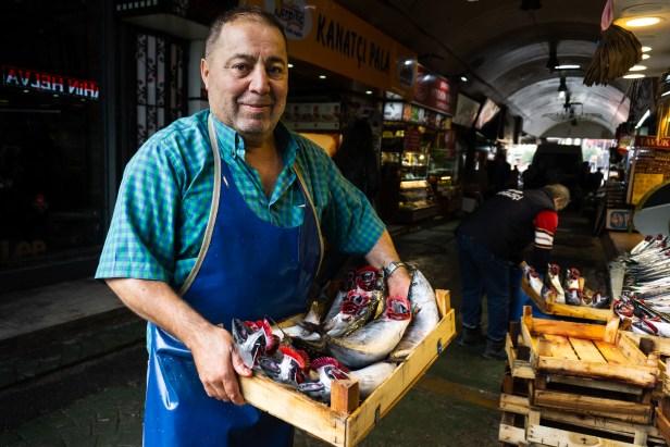 Üsküdar Balıkçı Fish Seller Market