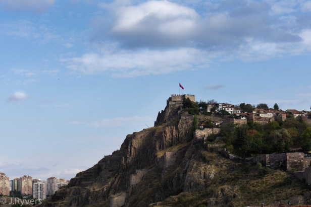 Ankara Castle hill