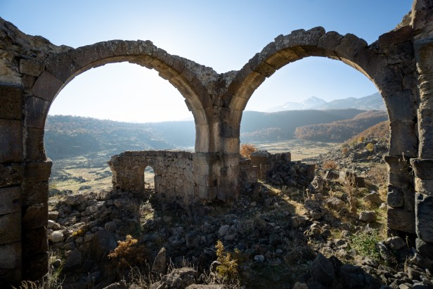 Aksaray Nora Ruined City Helvadere