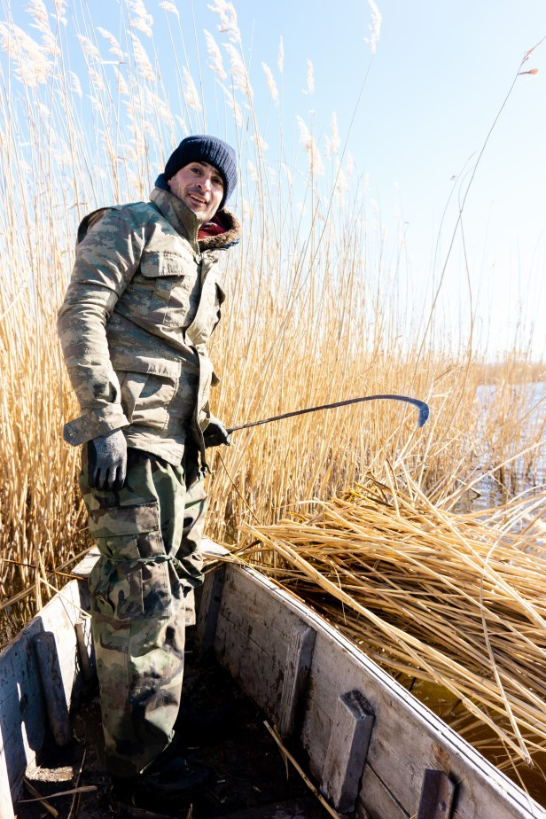 Eber Lake Reed Harvester Blog