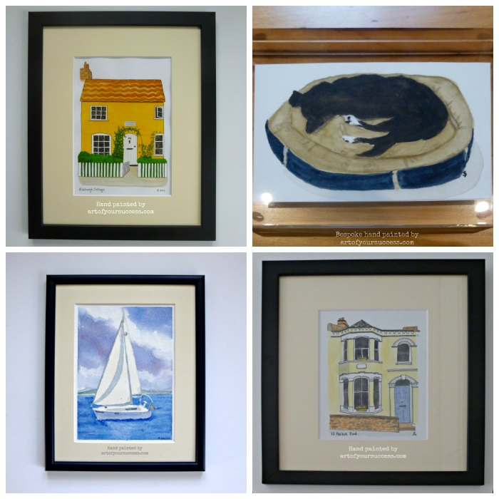 Bespoke Commissions Paintings House Paintings