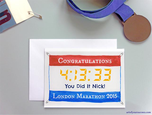 Gift for marathon runner