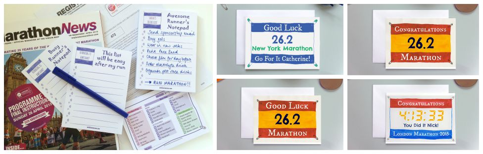 Get marathon ready, prepare for marathon, marathon training, marathon, 26.2, preparation, runner good luck, runner gift, runner present