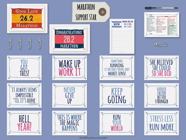 Marathon support star gift pack