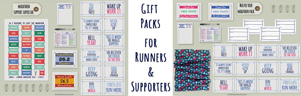 Runner gift, marathon gift,