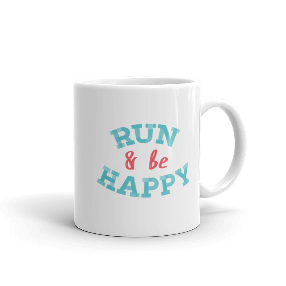 Runner run and be happy mug art of your success runner run and be happy mug publicscrutiny Choice Image