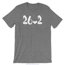 Marathon 26.2 Love T Shirt
