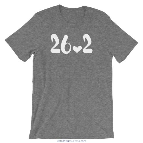 Marathon 26.2 Love T Shirt