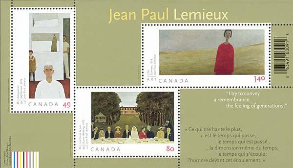 People On Paintings Of J.-P. Lemieux