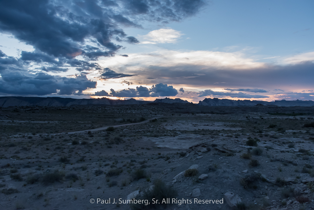 Green River BLM Sunset