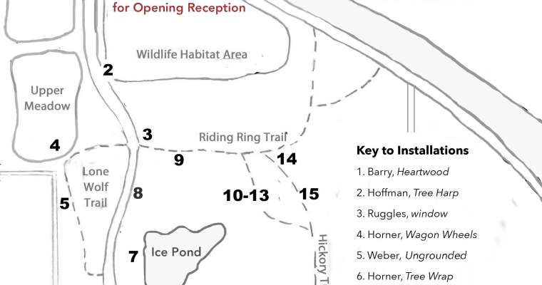 Art on the Trails Opening This Wednesday