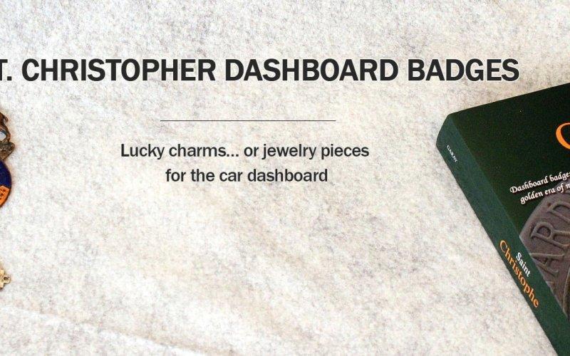 St. Christopher Dashboard Badges