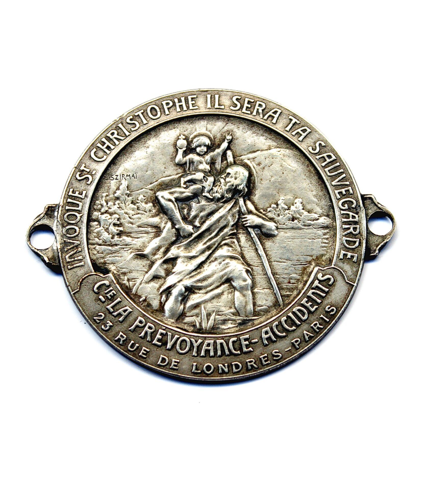 St. Christopher badge by Tony Szirmai