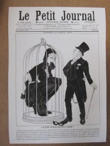 Le Petit Journal tiré à 20 exemplaires sur papier Museum 350gr