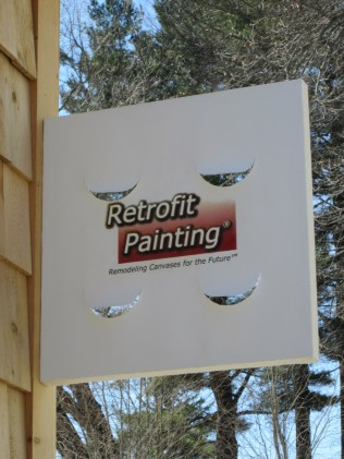 canvas sign for corporation.Remodeling Canvases for the Future